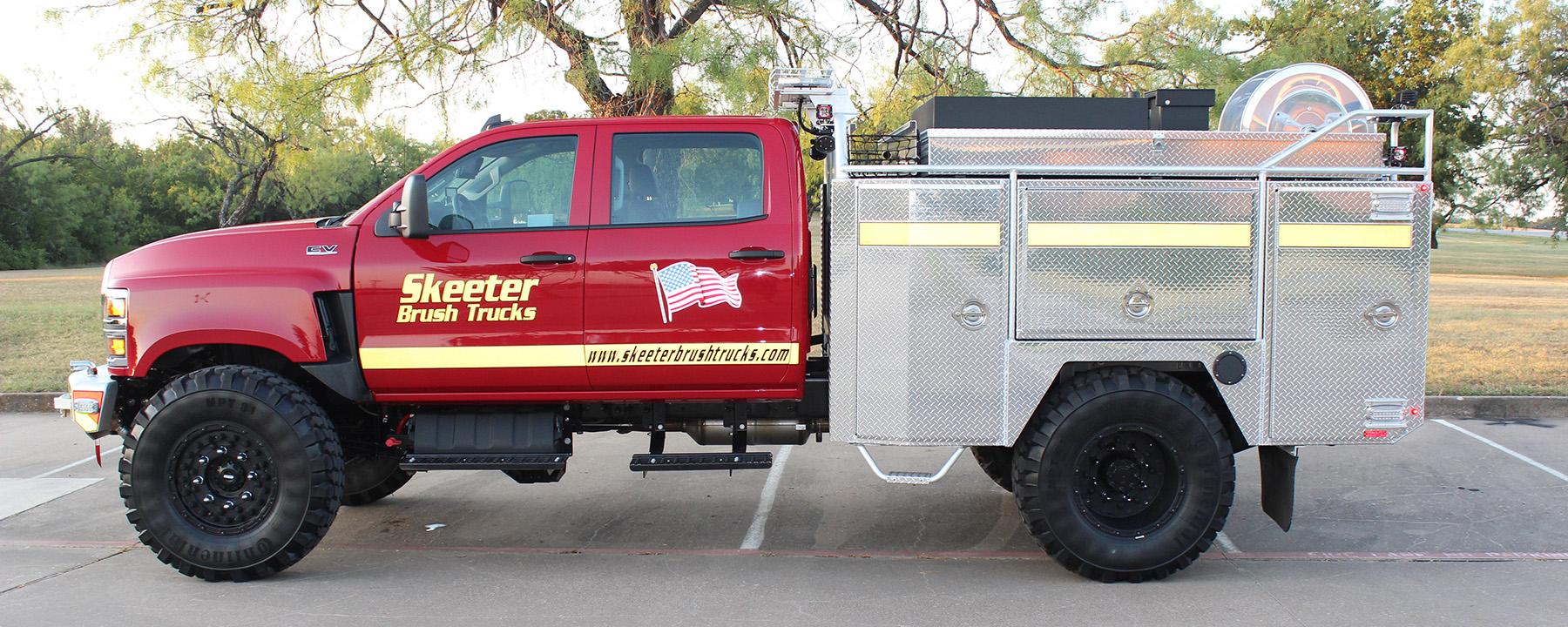 Skeeter Brush Truck