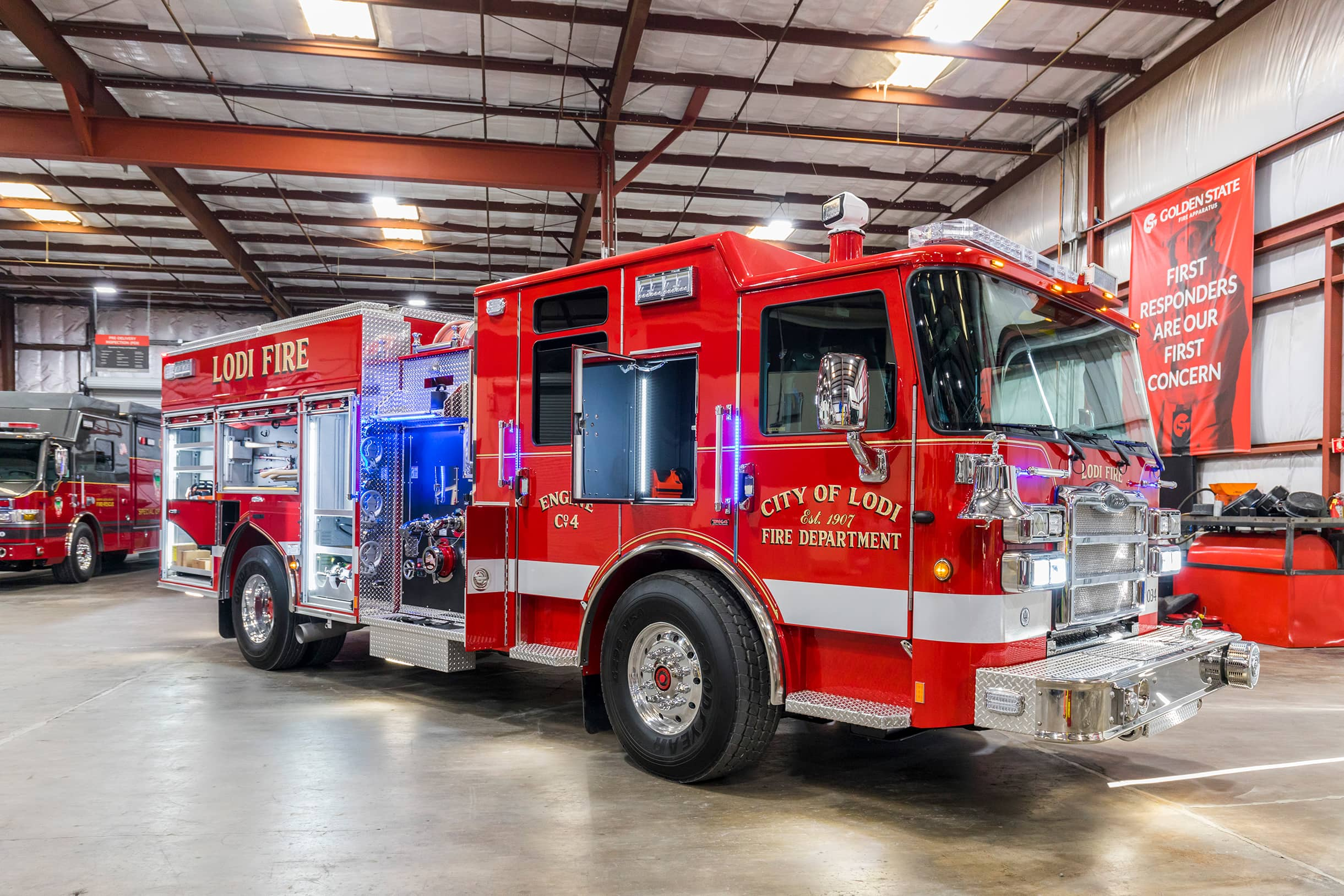 Lodi Fire Truck